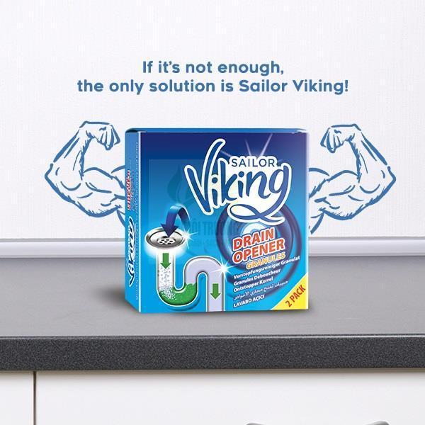 Bột thông cống Viking