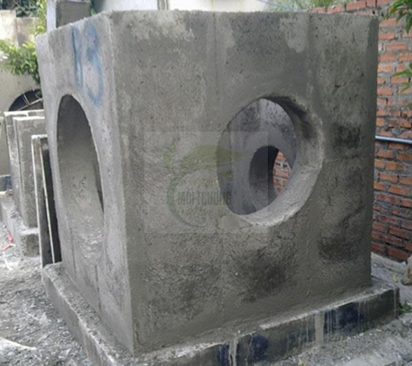 Hố ga bằng bê tông cốt thép
